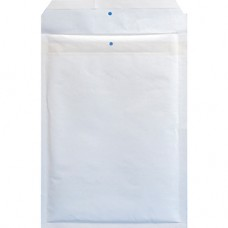 Pochette à bulles FSC N°3 - 145×215 Kraft 90g - Blanc - PEFC - par 10