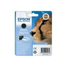 Epson T0711 - Noir - original - blister - cartouche d'encre - pour Stylus DX9400, SX115, SX210, SX215, SX218, SX415, SX515, SX610; Stylus Office BX310, BX610