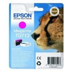 Epson T0713 - Magenta - original - blister - cartouche d'encre - pour Stylus DX9400, SX115, SX210, SX215, SX218, SX415, SX515, SX610; Stylus Office BX310, BX610