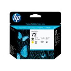 HP 72 - Jaune, noir mat - tête d'impression - (C9384A)