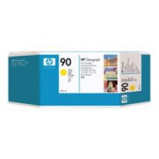 HP 90 XL- Pack de 3 - Jaune - original - cartouche d'encre (C5085A)